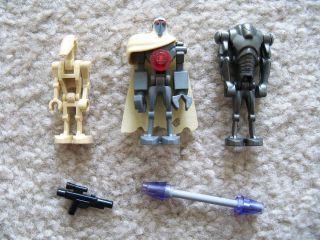 LEGO Star Wars Clone Wars Rare Magnaguard Super Battle Droid Battle