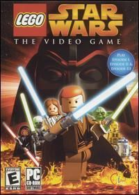 Lego Star Wars The Video Game PC CD Movie Action Game