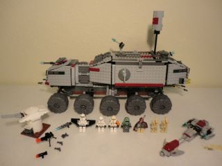 Lego Star Wars CLONE TURBO TANK Set 7261 Minifigs 100 COMPLETE Light