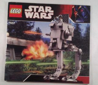Lego Star Wars Instruction Manual 7657 at St Imperial Walker