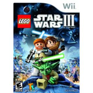 Lego Star Wars 3 The Clone Wars New Nintendo Wii Game