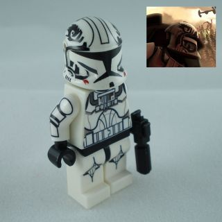 Lego Star Wars Clone War Clone Trooper Pilot Warthog