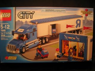 Lego City 7848 Toys R US Truck with Toy Shop