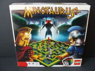 New Lego Minotaurus Game Dice Minotaur Microfigures Board Building