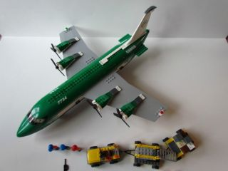 Lego Cargo Plane Set 7734 City Airplane Boarding Stair Vehicle