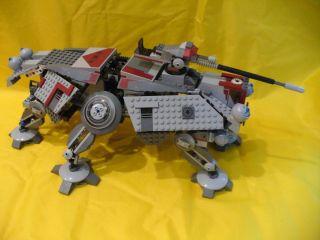 Lego 7675 Star Wars at TE Clone Wars Walker Assembled Incomplete Set