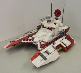 Lego Set 7679 Republic Fighter Tank Clone Trooper Star Wars 2008