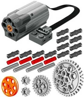 Lego Power Functions M Motor Technic Mindstorms NXT RCX Car Truck Axle