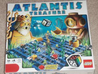 Lego Atlantis Treasure Game 3851