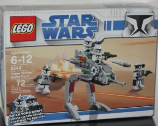 Lego Star Wars 8014 Clone Walker Battle Pack Minifig