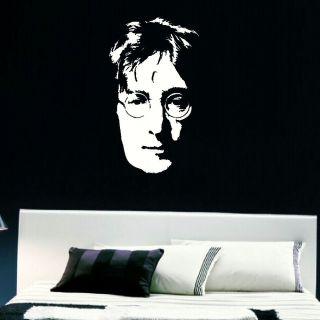 Large John Lennon Legend Bedroom Wall Art Sticker Transfer Graphic