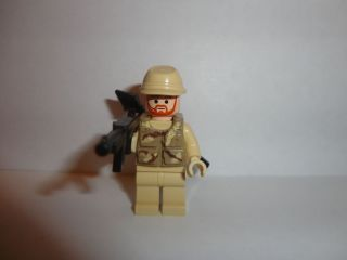 Lego Custom Battlefield 3 Military Army Minifigure New