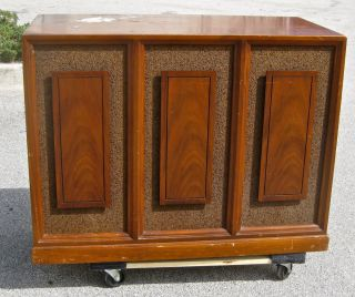 LESLIE SPEAKER CABINET 222 PROJECT WOOD ONLY HAMMOND ORGAN B 3 122 C 3
