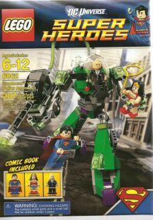 Lego Super Heroes Superman vs Power Armor Lex 6862 DC Universe Set New