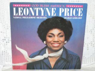 God Bless America Leontyne Price RCA Red Seal ARL1 4528