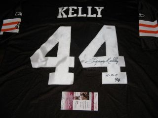 Leroy Kelly Browns HOF JSA COA Signed Jersey
