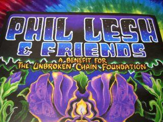 PHIL LESH FRIENDS WARFIELD MICHAEL EVERETT FROG SIGNED CONCERT POSTER