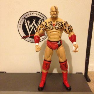 WWE Lord Tensai Action Figure Custom Rare Vhtf Elite Deluxe Mattel