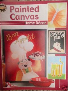 Leisure Arts Painted Canvas Home Decor 2004