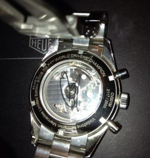 Tag Heuer Carrera Limited Edition Lewis Hamilton 2008 World Champion