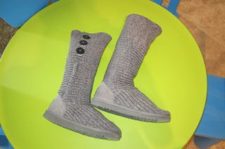 UGG Australia Cardigan Cardy Slouch Boots in Gray 7