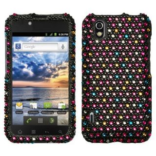 For Alltel LG Ignite Crystal Diamond Bling Hard Case Phone Cover