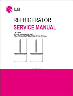 LG Refrigerator Service Repair Manual