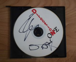 One Direction Zayn Malik Liam Payne Signed Blank CD