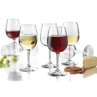 Libbey 12 5 Ounce Wine Party Glass 12 Piece Set glasses goblets new
