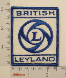 British Leyland Car Truck Emblem Embroidered Patch
