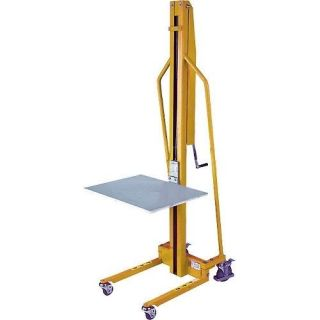 Lift Truck Manual Hand Crank 220 lb Cap 59 of Lift