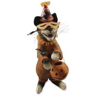 Bethany Lowe Vergie Lightfoot Halloween Opera Black Cat