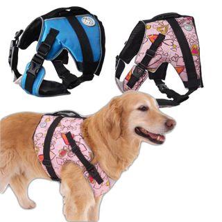 Doggles Dog Life Jacket Preserver Safety Aquatic Pet Flotation Vest