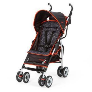 The First Years Lightweight Ignite Stroller in Sticks Stones Black Red