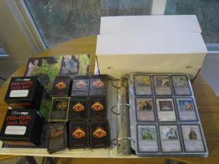 Huge Lot of MECCG Cards Wizards Dragons Lidless Eye Dark Minions