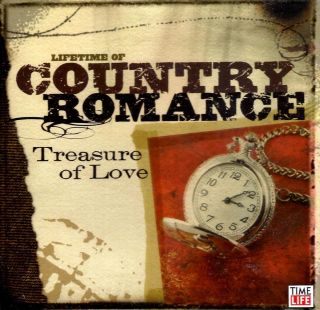 Lifetime of Country Romance Treasure of Love 2 CD 30 Hits Time Life