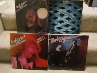 Wholesale Lot of Rock 12 LP Vinyl Records Bob Seger Tommy The Who