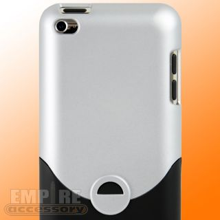 Silver Hard Case for Apple iPod Touch iTouch 4G 4th Gen Generation