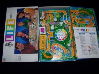 The Game of Life 1991 Vintage Boardgame 100 Complete Board Game