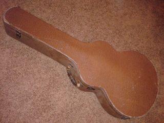 Vintage 1940 1950 Era RARE Lifton Guitar Case Gibson Epiphone Samick