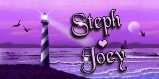 Lighthouse Purple Pink Decal Bumper Sticker Personalize