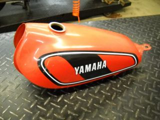 Yamaha DT100 DT 100 Enduro Gas Fuel Petrol Tank Cell