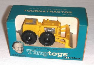 Vintage 1959 Hubley Tiny Toys Art Linkletter Construction Toy Tourna