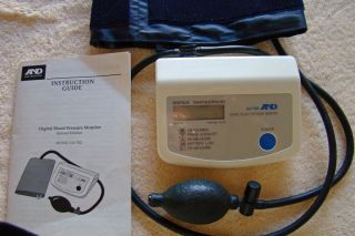 Blood Pressure Monitor A D UA 702 LifeSource And