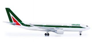 Herpa 517713 Aereo Di Linea Airbus A330 200 Compagnia Alitalia Scala 1