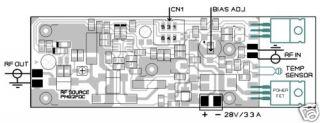 RF Power Linear Amplifier Pallet Am HF Ham Radio PA 60W