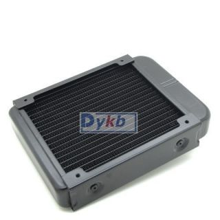 Aluminum Liquid Water Cooling cooled Row Heat exchanger for Computer