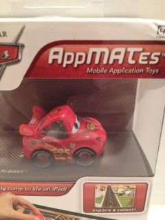 Pixar Cars 2 Appmates Toy Lightning McQueen Game iPad iPad2 App