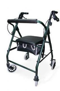 Invacare Rollator 4 Wheel Rolling Walker with Seat Lightweight Folding