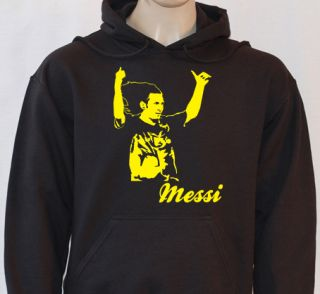 Lionel Messi Barcelona Cult Football Legend Kids Hoodie FL200
